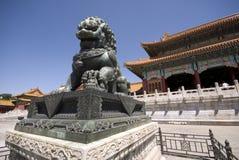 Città severa Pechino Immagine Stock