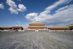 Città severa Pechino Fotografie Stock