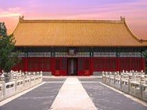 Città severa a Pechino Immagini Stock Libere da Diritti
