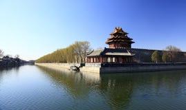 Città severa Pechino Fotografia Stock
