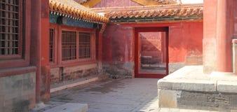 Città severa a Pechino Fotografie Stock Libere da Diritti