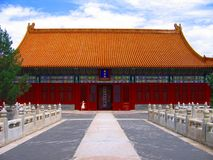 Città severa a Pechino Immagine Stock
