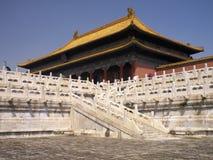 Città severa Pechino - in Cina Immagine Stock
