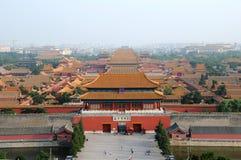 Città severa a Pechino, Cina Immagini Stock Libere da Diritti