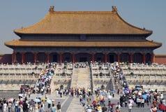 Città severa Pechino - in Cina Fotografia Stock Libera da Diritti