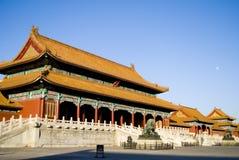 Città severa a Pechino, Cina Fotografia Stock Libera da Diritti