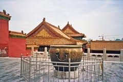 Città severa a Pechino, Cina Fotografie Stock