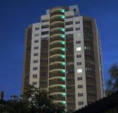 Città siberiana di architettura (megalopoli) Novosibir fotografie stock libere da diritti