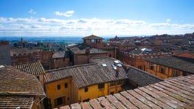 Città Siena 3 immagini stock libere da diritti