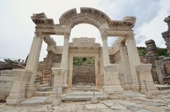 Città Smirne Turchia dell'oggetto d'antiquariato di Ephesus Immagine Stock Libera da Diritti