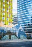 Città sostenibile Fotografia Stock Libera da Diritti