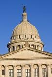 Città stato Campidoglio dell'Oklahoma Immagine Stock Libera da Diritti