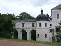 Città storica Immagine Stock
