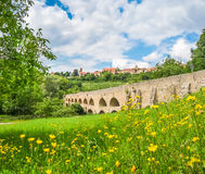 Città storica del der Tauber, Franconia, Baviera, Germania del ob di Rothenburg Immagini Stock Libere da Diritti
