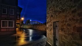 Città storica della Germania Immagini Stock Libere da Diritti