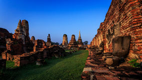 Città storica di Ayutthaya Fotografia Stock