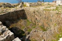 Città storica di Byblos nel Libano Fotografia Stock Libera da Diritti
