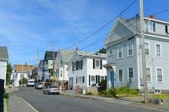 Città storica di Gloucester, Massachusetts immagini stock libere da diritti