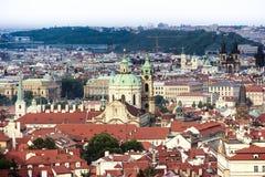 Città storica di Praga Immagine Stock