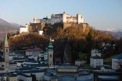 Città storica di Salisburgo, Austria Fotografie Stock