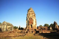 Città storica di Wat Phra Mahathat vecchia. La Tailandia Immagini Stock