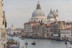 Città storica e bella di Venezia in Italia Fotografia Stock