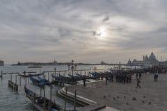 Città storica e bella di Venezia in Italia Immagine Stock
