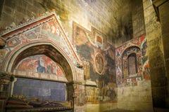 Città storica e medievale nel centro della Spagna Immagini Stock