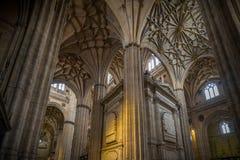 Città storica e medievale nel centro della Spagna Immagine Stock Libera da Diritti