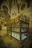 Città storica e medievale nel centro della Spagna Fotografia Stock Libera da Diritti