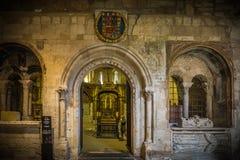 Città storica e medievale nel centro della Spagna Fotografie Stock Libere da Diritti