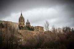 Città storica e medievale nel centro della Spagna Fotografie Stock