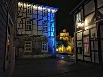 Città storica, Rinteln Fotografia Stock Libera da Diritti
