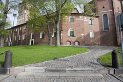 Città storica Turku Immagini Stock Libere da Diritti