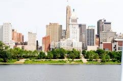 Città sull'Ohio immagine stock