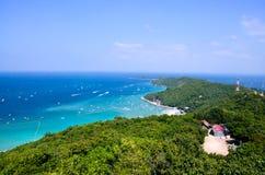 Città Tailandia di pattaya dell'isola del larn del KOH Immagine Stock