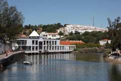Città Tavira nel Portogallo Fotografia Stock