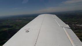 Città tedesca da un aereo Fotografie Stock