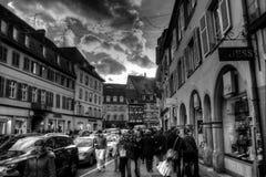 Città tradizionale sana Fotografia Stock Libera da Diritti