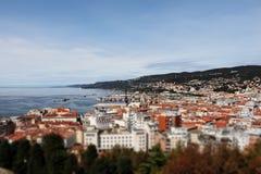 Città Trieste in Italia Fotografia Stock Libera da Diritti