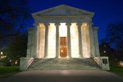 Città universitaria alla notte Fotografia Stock Libera da Diritti