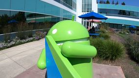 Città universitaria Android di Google video d archivio