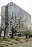Città universitaria Bucarest Pipera - torre 1 di Globalworth Fotografia Stock Libera da Diritti