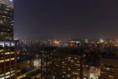 Città universitaria del MIT sulla banca di fiume del Charles, Boston Fotografie Stock Libere da Diritti