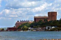 Città universitaria dell'istituto universitario tecnologico del Michigan Immagine Stock