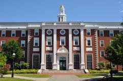 Città universitaria della scuola di commercio di Harvard - Boston Immagine Stock Libera da Diritti