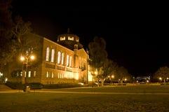 Città universitaria di formazione alla notte Fotografia Stock