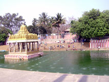Città universitaria di Tirupati Immagini Stock