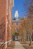Città universitaria di un'università storicamente nera Fotografie Stock