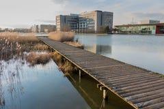 Città universitaria Eindhoven di alta tecnologia Fotografia Stock Libera da Diritti